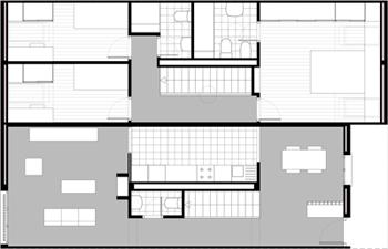 VIVIENDAS-LA-GUARDIA_Proyecto-basico_planta-duplex